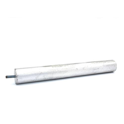 Анод магнієвий діаметр 25мм довжина 200мм з різьбою М5 і з короткою шпилькою