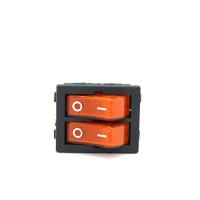 Кнопка включения/выключения двойная со светодиодом  Setel