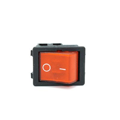 Кнопка включения/выключения одинарная со светодиодом  Setel