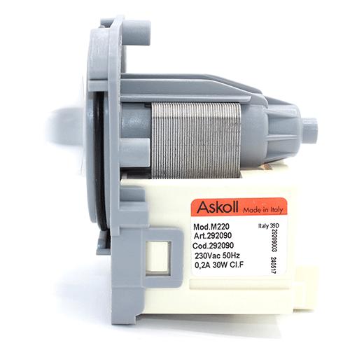 Насос (помпа) зливу води PMP Askoll 30W M 220 (292090) для пральних машин Electrolux, Bosch, Zanussi