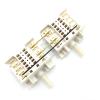 Здвоєний перемикач 7-позиційний Dreefs 5HE / 555 склокерамічних і чавунних конфорок Gorenje