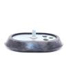 Фланец оцинкованный овальный с прокладкой для водонагревателя (бойлера) Ariston оригинал
