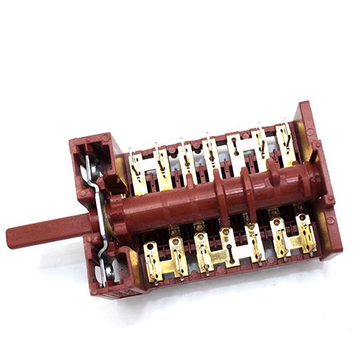 Перемикач Gottak 7La 870609 для електроплит і духовок Candy, Beko, Hansa, Orion, Amica, Kaiser, Gorenje, Indesit, Ariston