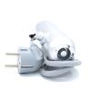 Термостат аналоговый HT серый с рабочей температурой 0 °С до +50°С для полотенцесушителей и биметаллических батарей