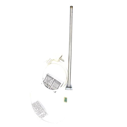 ТЭН HT патронного типа 1000W термопредохранителем и  выключателем для полотенцесушителей и биметаллических батарей