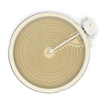 Електроконфорка Kawai 2200W (1000W+1200W) діаметр 230 мм 5 контактів для склокерамічних поверхонь