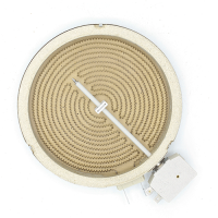 Електроконфорка Kawai 1200W діаметр 165 мм 2 контакти для склокерамічних поверхонь