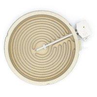 Електроконфорка Kawai 1800W діаметр 200 мм 2 контакти для склокерамічних поверхонь