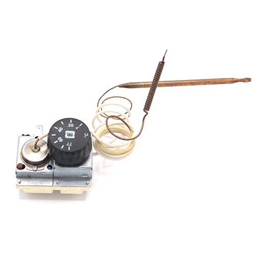 Терморегулятор 77 °C і аварійний (захисний) термостат капілярний 95 ° C MMG