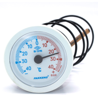 Капілярний термометр Pakkens діаметром 52 мм +/-40 °C