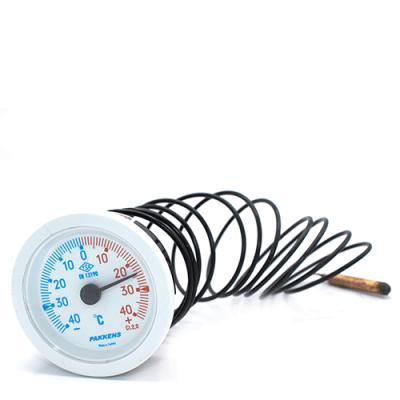 Капиллярный термометр Pakkens диаметром 52 мм +/-40 °C 2 метра
