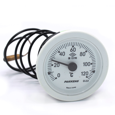 Капиллярный термометр Pakkens диаметром 52 мм 120 °C 1 метр