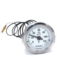 Капілярний термометр Pakkens діаметром 60 мм 120 °C 1 метр