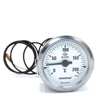 Капиллярный термометр Pakkens диаметром 60 мм 200 °C 1 метр