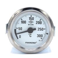 Капілярний термометр Pakkens діаметром 60 мм 300 °C 1 метр