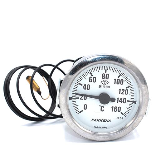 Капиллярный термометр Pakkens диаметром 60 мм 160 °C 2 метра