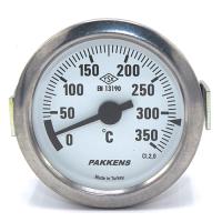 Капиллярный термометр Pakkens диаметром 60 мм 350 °C 2 метра