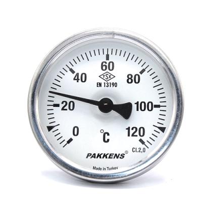 Термометр патронного типа  Pakkens 5 см диаметром 63 мм 120 °C
