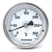 Термометр патронного типу  Pakkens 10 см діаметром 63 мм 300 °C