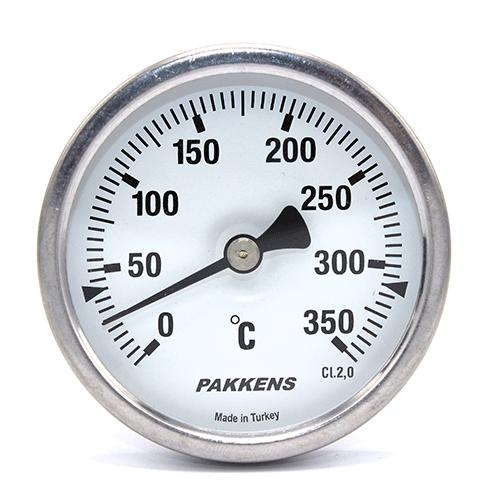 Термометр патронного типу  Pakkens 10 см діаметром 63 мм 350 °C