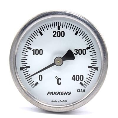 Термометр патронного типа  Pakkens 10 см диаметром 63 мм 400 °C