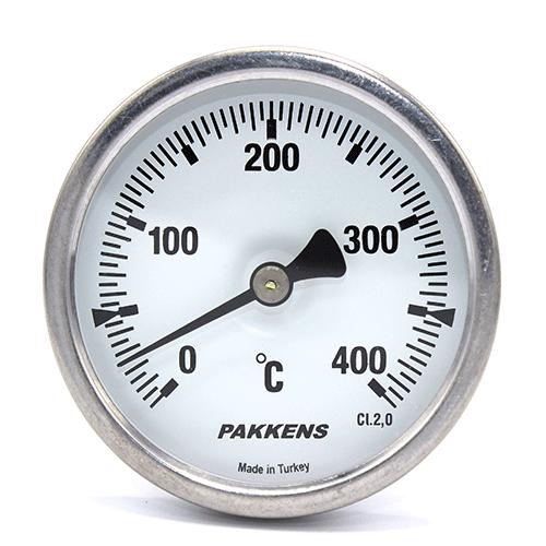 Термометр патронного типу  Pakkens 10 см діаметром 63 мм 400 °C