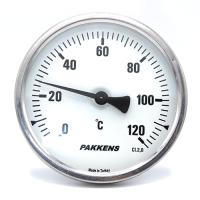 Термометр патронного типа  Pakkens 10 см диаметром 100 мм 120 °C