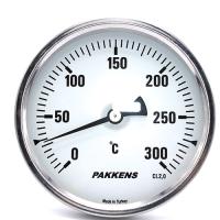 Термометр патронного типу  Pakkens 10 см діаметром 100 мм 300 °C