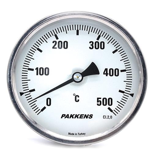 Термометр патронного типу  Pakkens 10 см діаметром 100 мм 500 °C