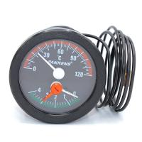 Термоманометр Pakkens діаметр 52 мм 120 °C  0-4 бар