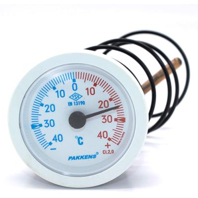 Капиллярный термометр Pakkens диаметром 52 мм +/-40 °C