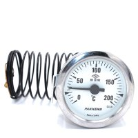 Капиллярный термометр Pakkens диаметром 60 мм 200 °C 2 метра
