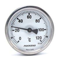 Термометр патронного типу  Pakkens 10 см діаметром 63 мм 120 °C
