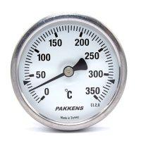 Термометр патронного типа Pakkens 10 см диаметром 63 мм 350 °C
