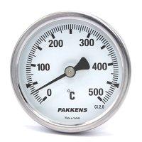 Термометр патронного типу  Pakkens 10 см діаметром 63 мм 500 °C