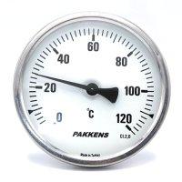 Термометр патронного типу  Pakkens 10 см діаметром 100 мм 120 °C