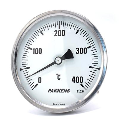 Термометр патронного типу  Pakkens 10 см діаметром 100 мм 400 °C