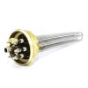 Блок ТЭН Sanal прямой тройной 6000W/220V 2 дюйма резьба для котлов, систем отопления и подогрева воды