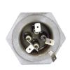 Двойной ТЭН Sanal 1000W (400W+600W) нержавеющая сталь для масляных радиаторов